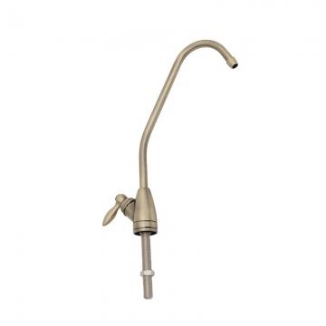 """Кран для чистой воды F-07-2BC-L-B/F-07-L-BB 1/4"""", бронза"""