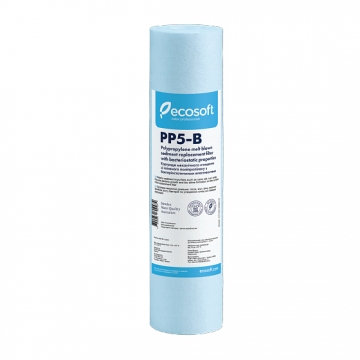"""Ecosoft 2,5""""х10"""" 5 мкм бактериостатический из вспененного ПП"""